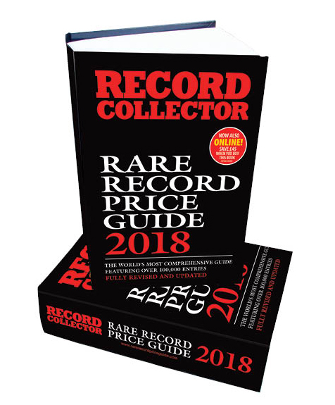 Rare Record Price Guide 2018 Hardback