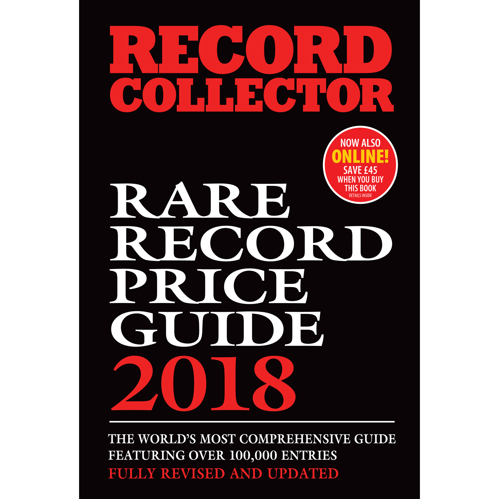 Rare Record Price Guide 2018 Softback