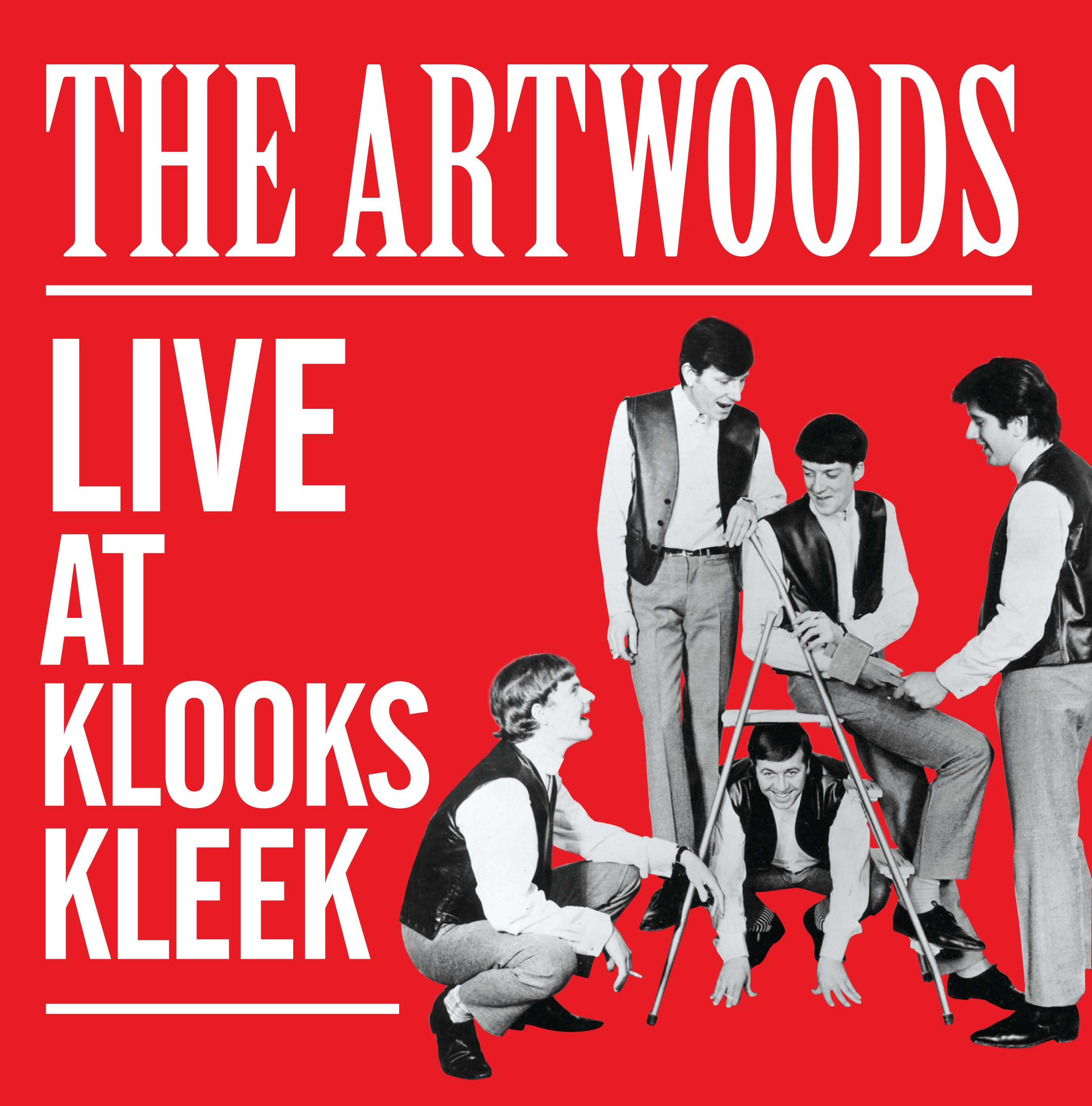 THE ARTWOODS Live At Klooks Kleek Rare Vinyl LP