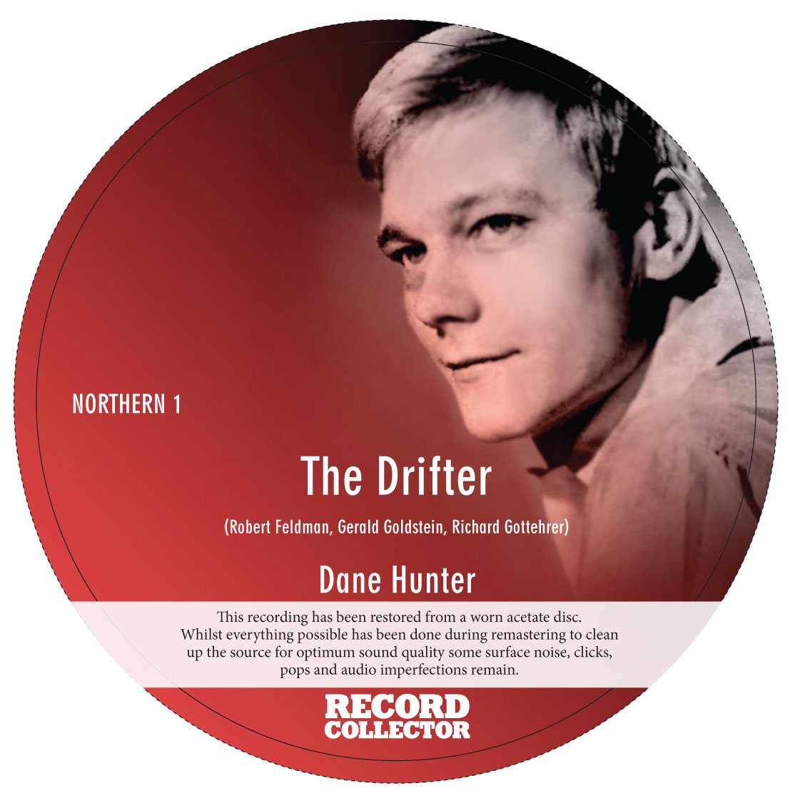 Dane Hunter - The Drifter 7""